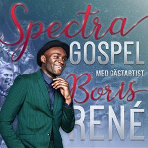 Spectra Gospel Julkonsert med Boris René