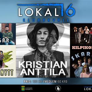 Kristian Anttila, Live