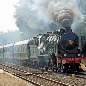 Sortie en train vapeur pour la Fête du Hareng et de la Coquille à Dieppe, samedi 16 novembre