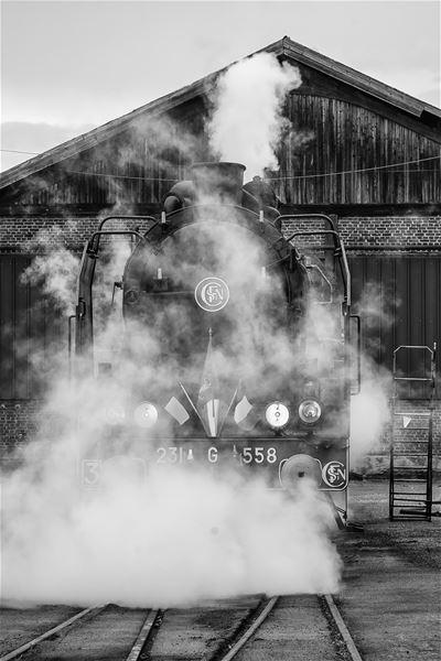 Sortie en train à vapeur pour Paris, samedi 21 décembre