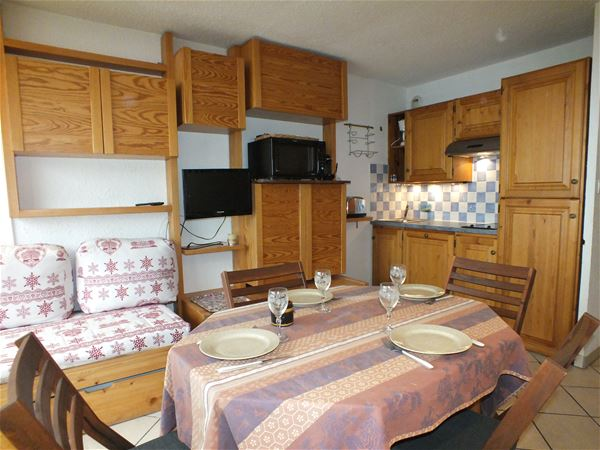 3 Vallées 414 > Studio + Cabin - 4 Persons - 2 Silver Snowflakes (Ma Clé IMMO)