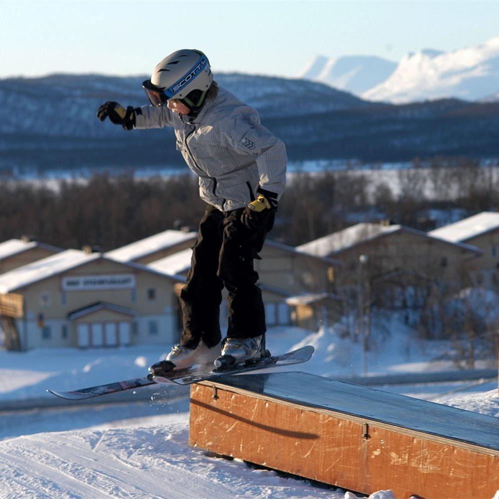 Sam Hedman,  © Hemavan Tärnaby Pr-förening, Hemavan Snowpark