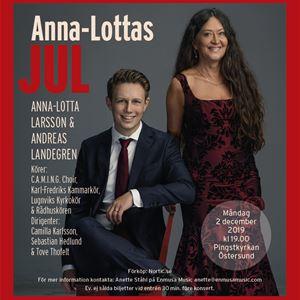 Foto: Anna-Lottas Jul,  © Copy: Anna-Lottas Jul, Julkonsert Anna-Lottas Jul 2019