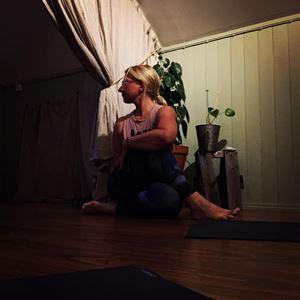 Hatha yoga in the Maritime Quartier in Mariehamn
