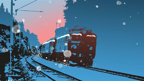 Mikael Dunker,  © Järnvägsmuseet, Take the Gingerbread Train to the Gävle Goat's Inauguration