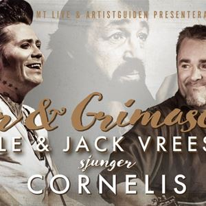Concert - Songs & Grimaces, Jack Vreeswijk & Brolle sings Cornelius.
