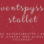 Adventspyssel i stallet för vuxna - Karlströms stall