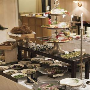 Mat: Julbord på Villa Vik
