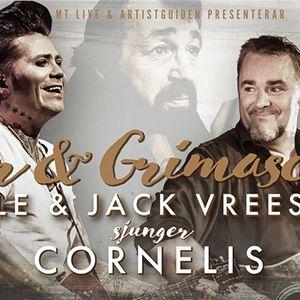 Visor & Grimascher - Jack Vreeswijk & Brolle sjunger Cornelis