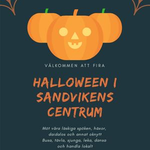 Halloween i Sandvikens Centrum