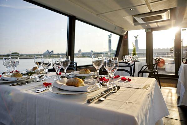 Déjeuner-croisière à bord de l'Escapade