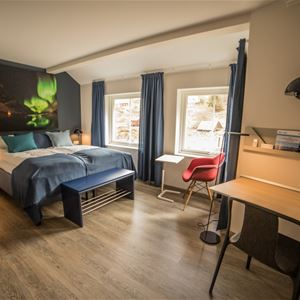 Double rooms at Koppangen Brygger