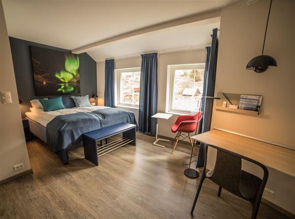 Double rooms at Koppangen Brygger