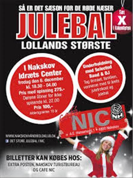 Julebal i Nakskov Idræts Center