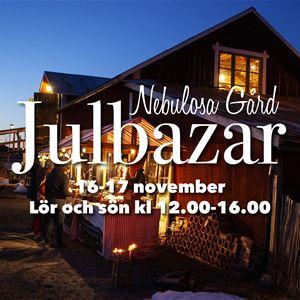 bild lånad från facebook , Julbazar på Nebulosa Gård (julmarknad)