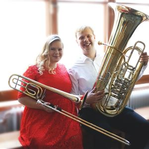 Concert with the Swedish Royal Navy's youth band - Brass in Love