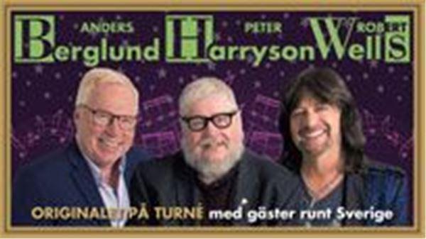 INSTÄLLT - Berglund, Harryson & Wells