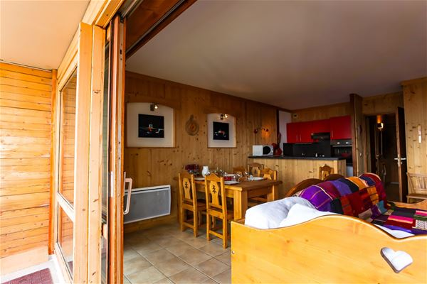 BEAU SOLEIL 002 / APARTMENT 3 ROOMS 6 PERSONS - 4 GOLD SNOWFLAKES - ADA