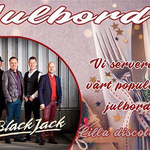 Julbord 7/12 med Black Jack