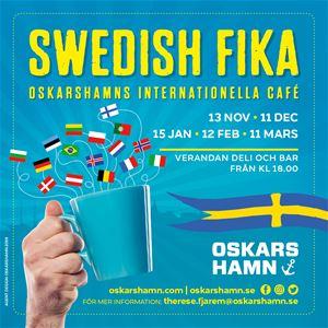 Swedish fika- Oskarshamns internationella café