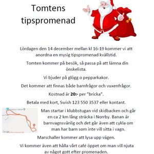 Tomtens tipspromenad