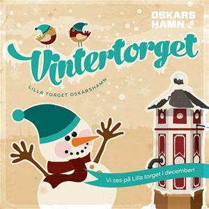 Vintertorget- Julskyltning