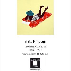 © Copy: https://www.facebook.com/svenssonsramar/, Exhibition- Britt Hillbom