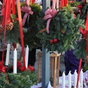 Julmarknad i vackra Gysinge Bruk
