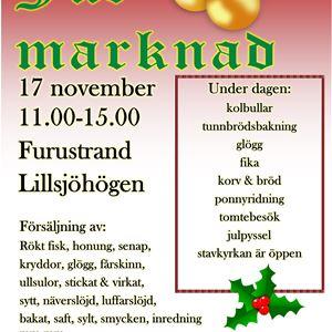 Julmarknad i Lillsjöhögen