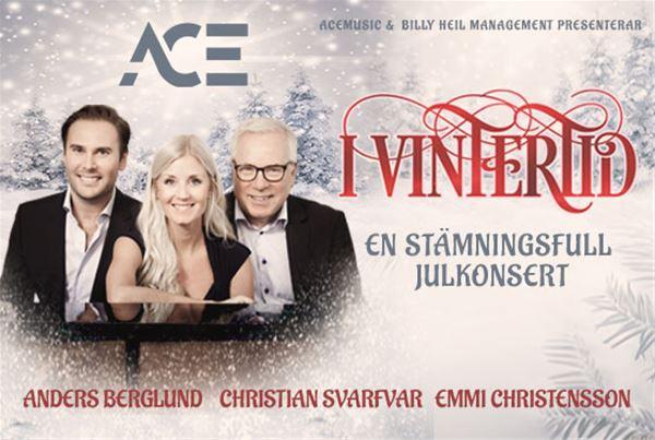 I Vintertid - en stämningsfull julkonsert med Anders Berglund mfl.
