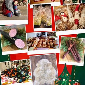 Julmarknad på Jällloppisen i Loka