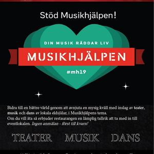 © Copy. Folkuniversitetet Östersund, Event for real human value- Musikhjälpen/ The Music aid