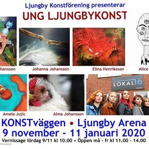 Utställning: UNG LJUNGBYKONST