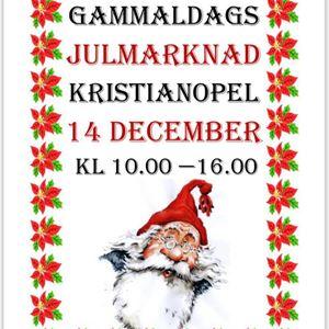 Gammaldags julmarknad i Kristianopel