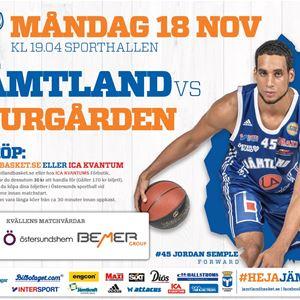 © Copy: Jämtlands basket, Jämtland Basket vs Djurgården Basket