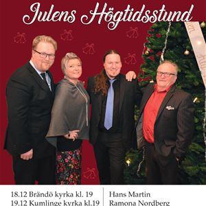 Joulukonsertti: Hans Martinin hengellisiä joululauluja