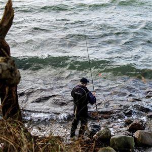 Meerforellenfliegenfischen auf der Insel Als mit übernachtung