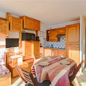 3 Vallées 414 > Studio + Cabin - 4 Persons - 3 Silver Snowflakes (Ma Clé IMMO)
