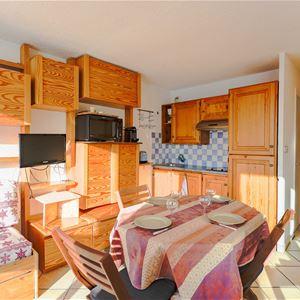 3 Vallées 414 > Studio + Cabine - 4 Personnes - 3 Flocons Argent (Ma Clé IMMO)