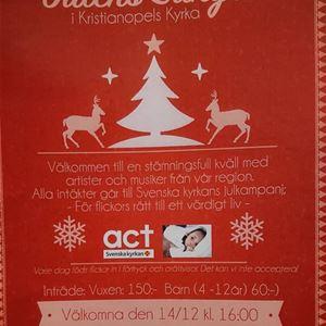 Konsert - Julens sånger i Kristianopels kyrka