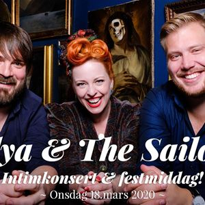 Silya and the Sailors - Intimkonsert og Festmiddag