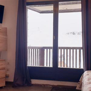 CIMES DE CARON 2604 / STUDIO 3 PERSONS - 2 SILVER SNOWFLAKES - VTI