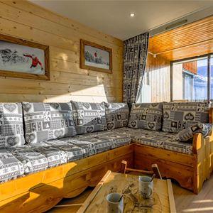 Sérac Q4 > 1 Room + Veranda + Cabin - 6 Persons - 3 Gold Snowflakes (Ma Clé IMMO)