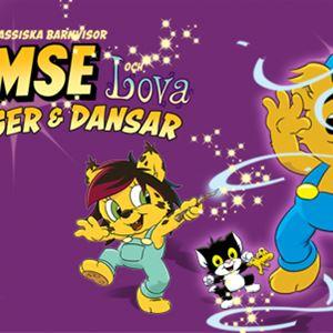 BAMSE & LOVA SJUNGER OCH DANSAR