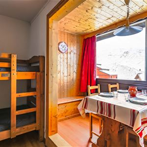 Cimes de Caron 2306 > Studio + Cabin - 3 Persons - 1 Silveralp Snowflake (Ma Clé IMMO)