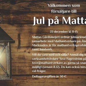 Joulu Mattasin maitotilalla