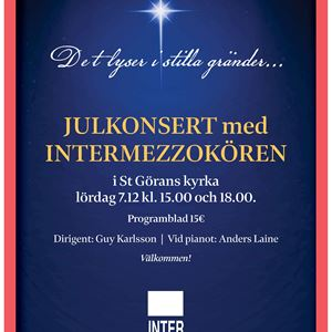 Christmas concert with Intermezzo choir