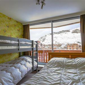 Dôme de Polset 614 > Appartement 6 personnes - 2 pièces + cabine - 2 Flocons Argent (Ma Clé IMMO)