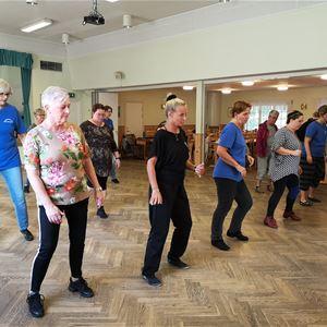 Prova på Line Dance