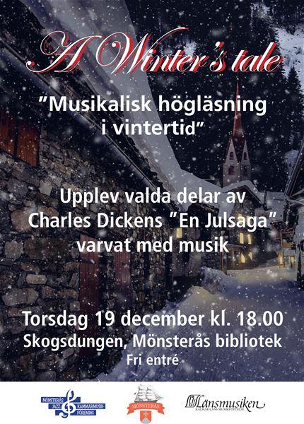 A Winter's tale - Musikalisk högläsning i vintertid